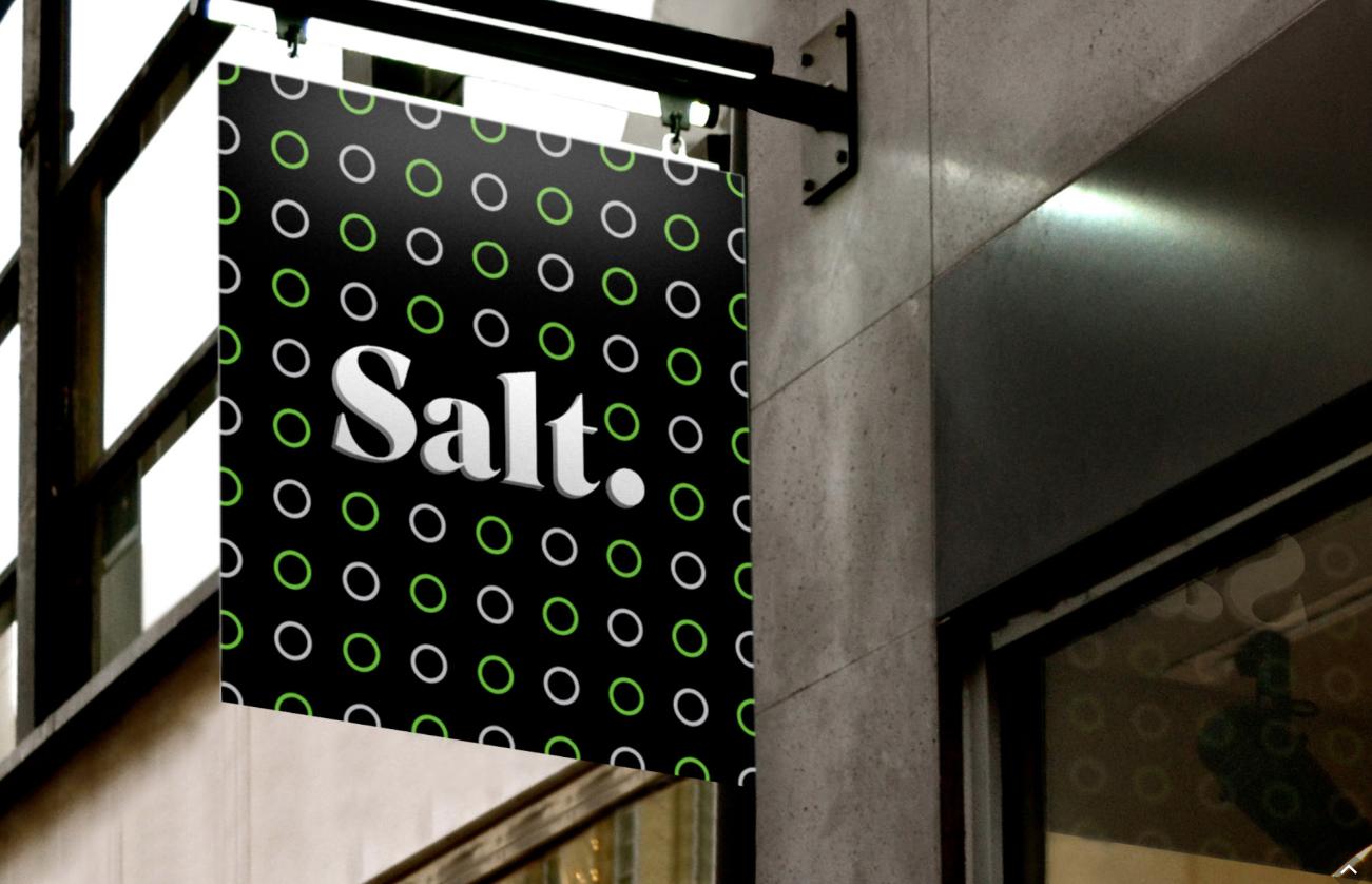 Foto - Il nuovo branding di Orange, dopo che l'azienda ha cambiato nome in SALT.
