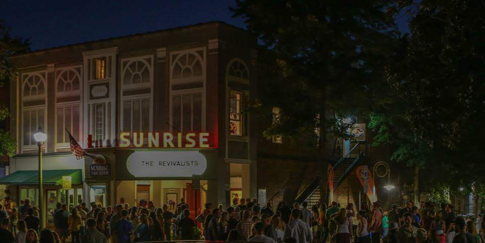Sunrise Theater First Fridays in Southern Pines