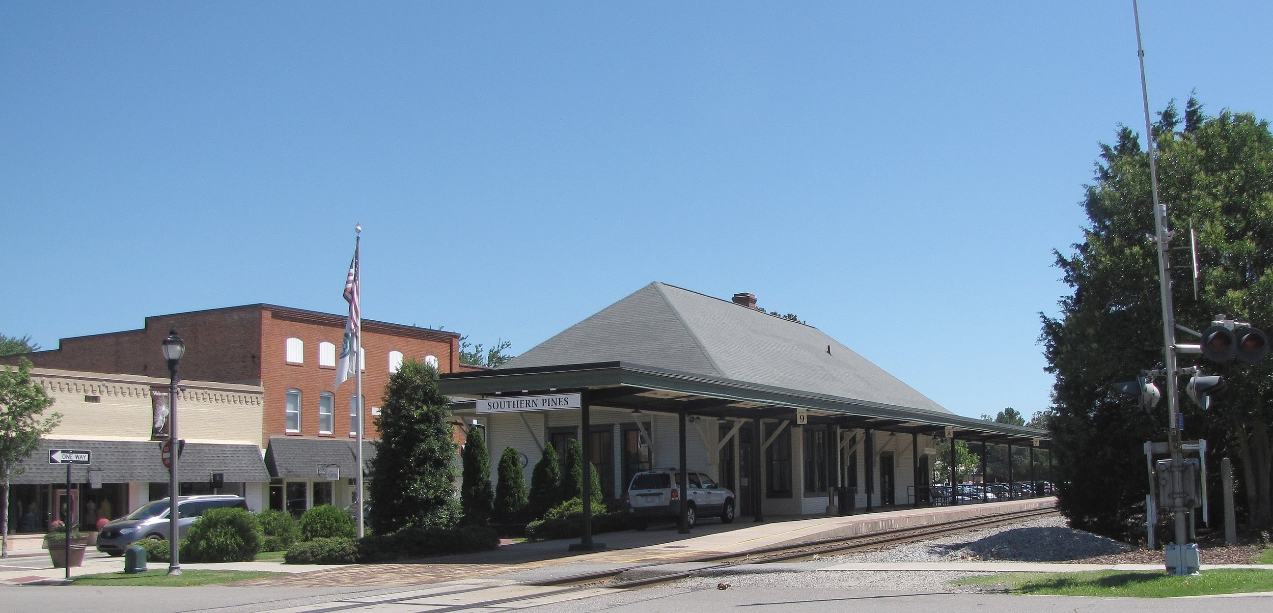 Southern Pines Train Station