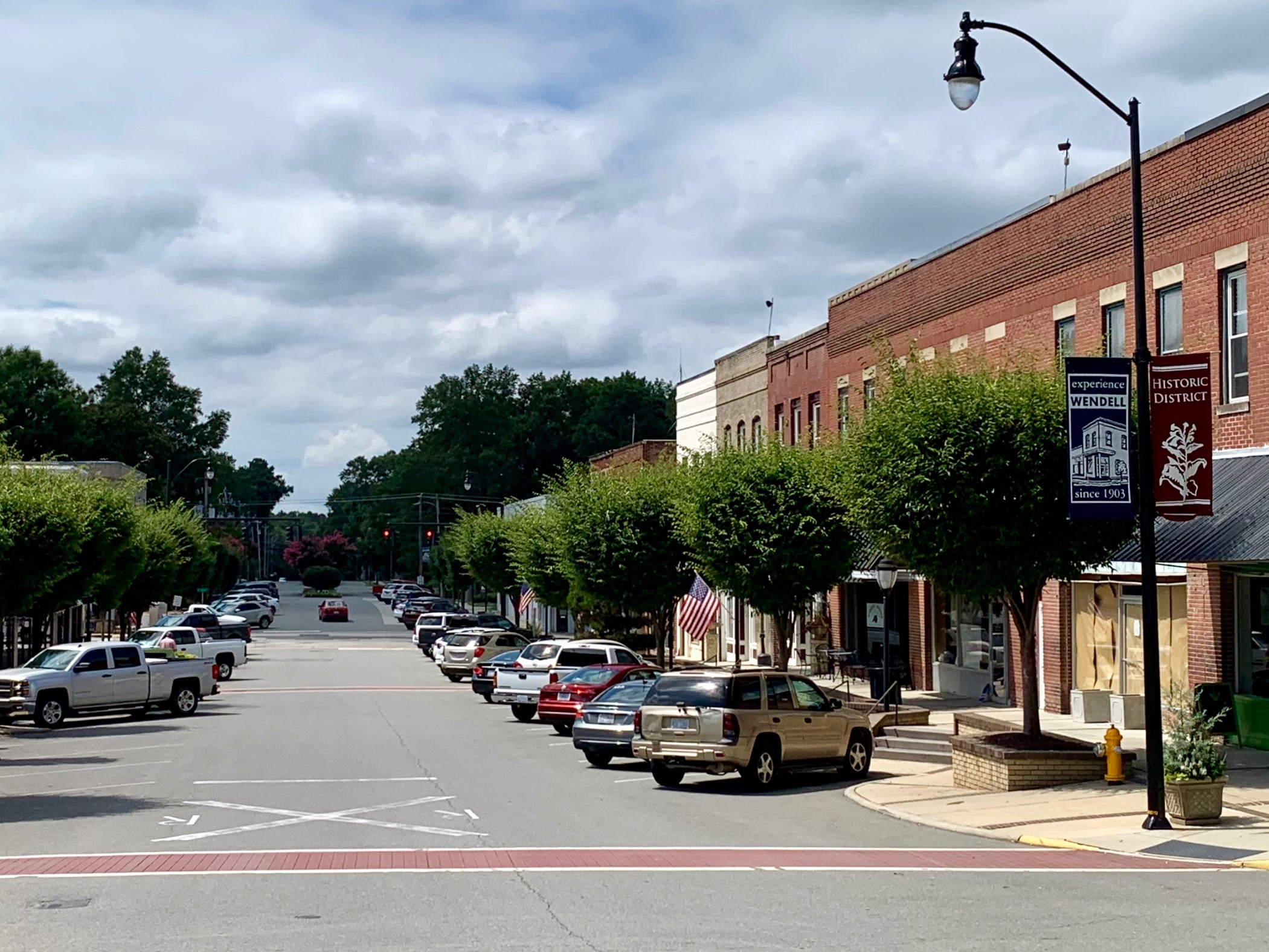 Downtown Wendell