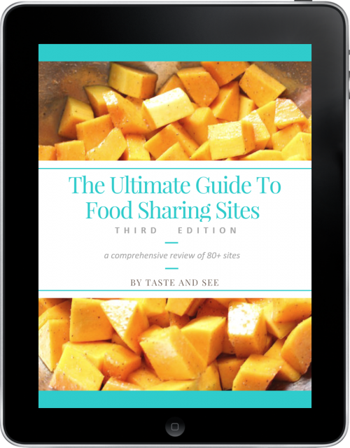 The Ultimate Guide to Food Sharing Sites - This book is super handy if you are a food blogger. It helps deciding which food sharing sites are worth the trouble and how to use them.