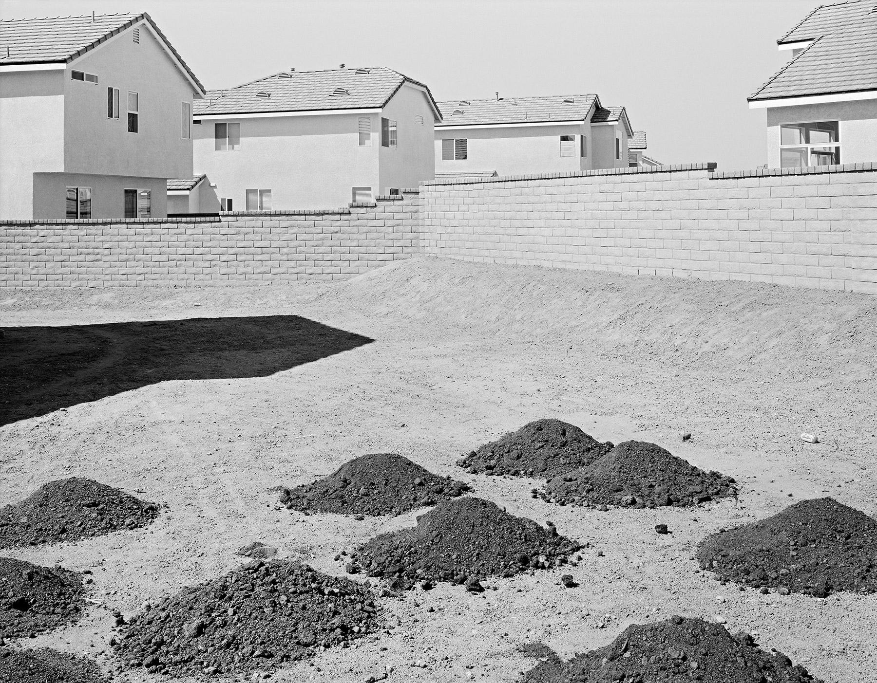 Back Yard, Valencia, California, 1996.