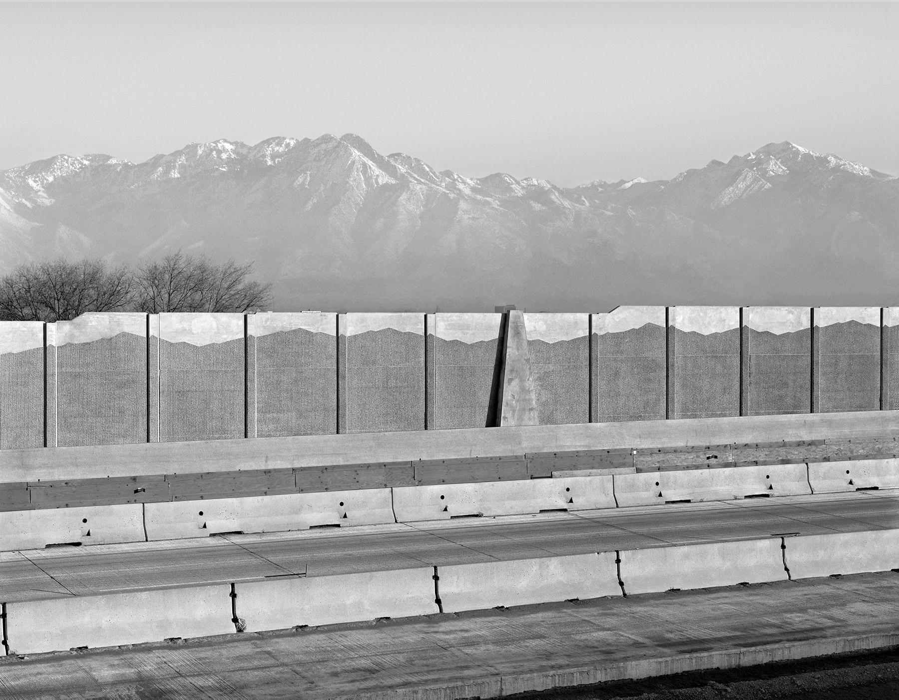 Interstate 15, Lone Peak, Sandy, Utah, 2000.