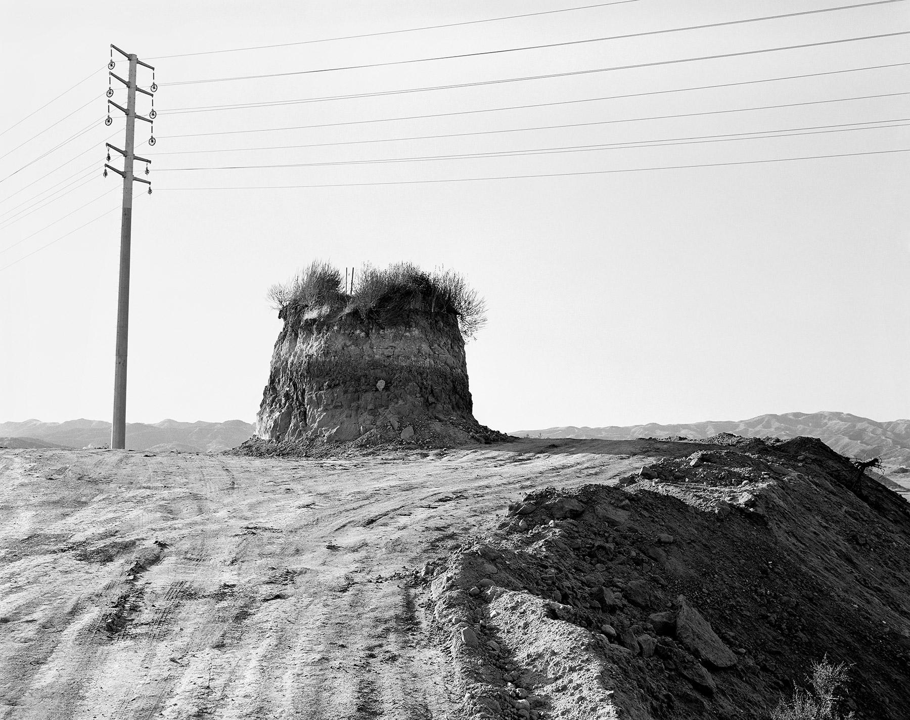 Surveyor Stakes, Valencia, California, 1999.