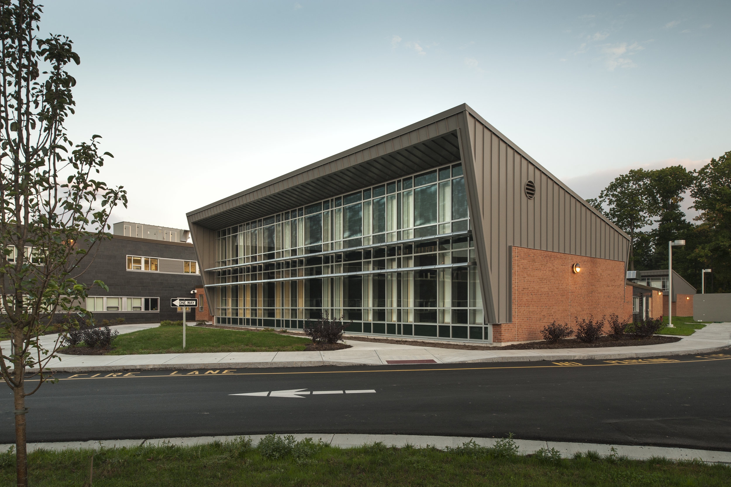 ZERO ENERGY READY MEDIA CENTER<strong>Liverpool Central School District.</strong>