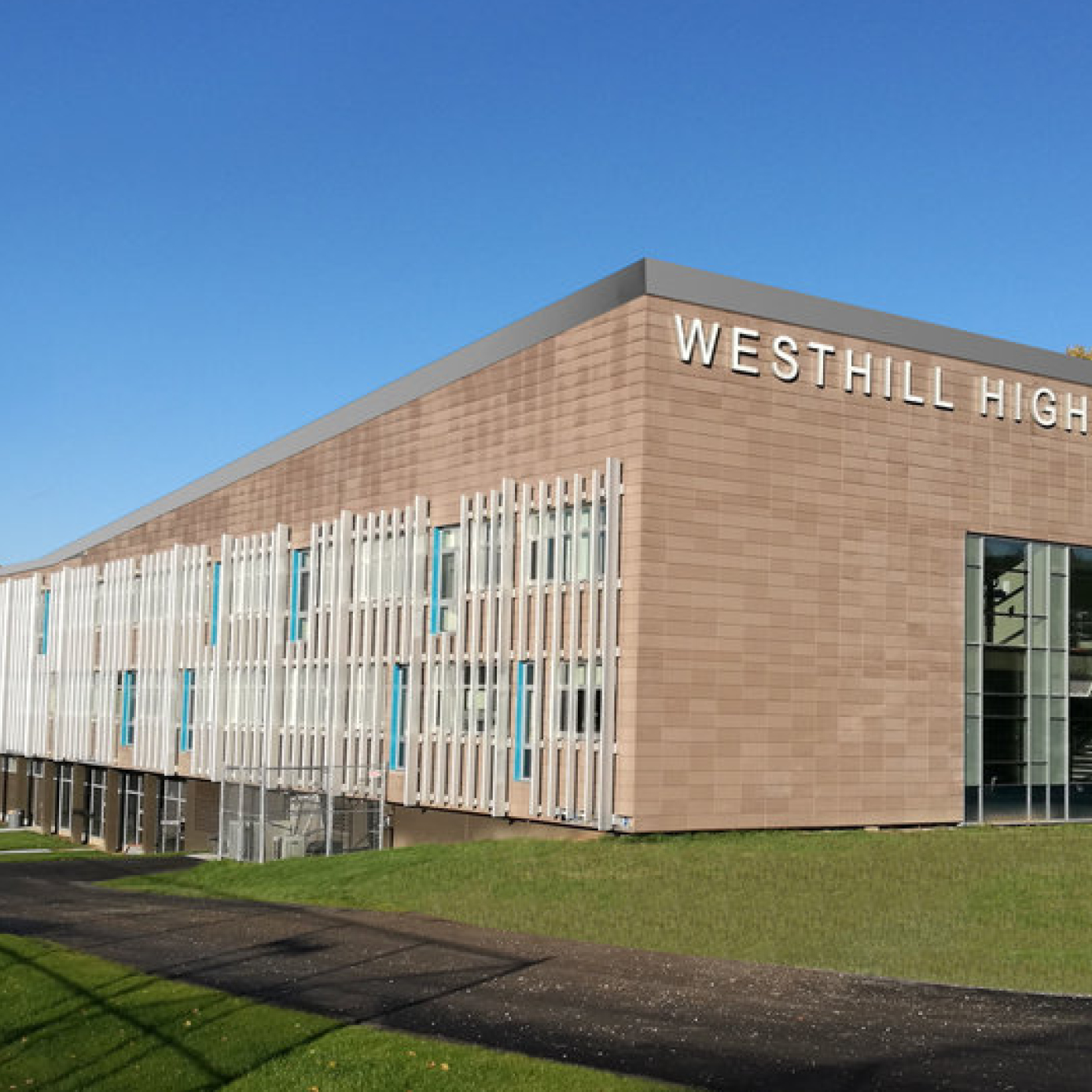 WESTHILL HIGH SCHOOL - RENOVATIONS designed to positively impact education and the environment