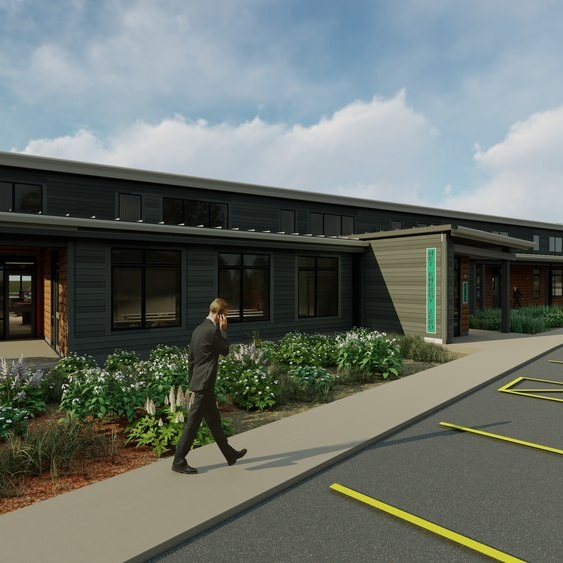SEF Net Zero Energy Office Building - Drawing on Passive House strategies, the design sets a regional standard in sustainability - from both economic and performance perspectives.