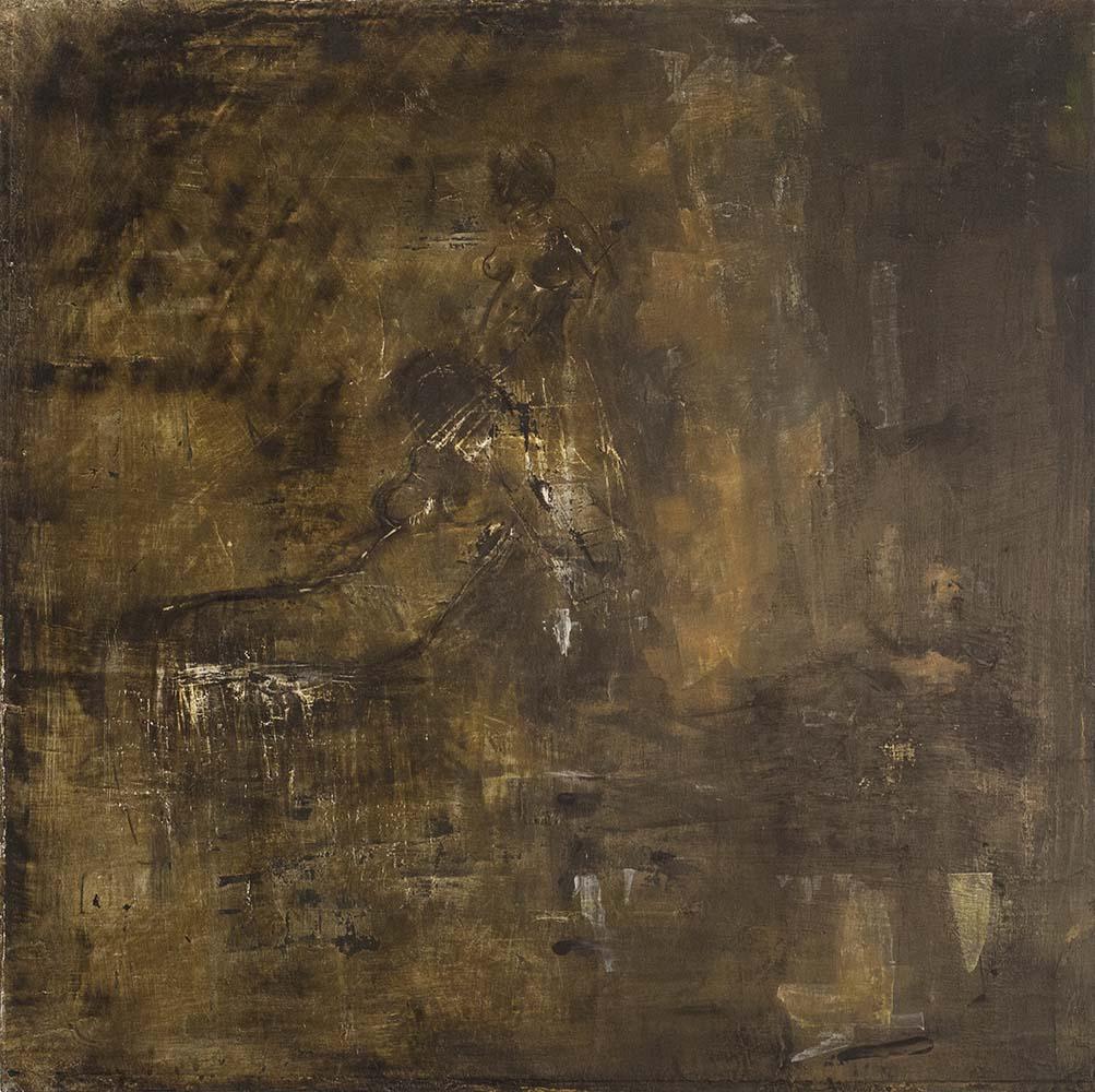 2. SEEKING II, 2017, mixed media & acrylic on canvas, 20 x 20 inches.jpg