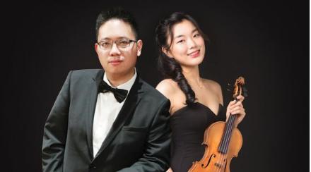 Pianist Alexander Yau and Violinist Ye Jin Min