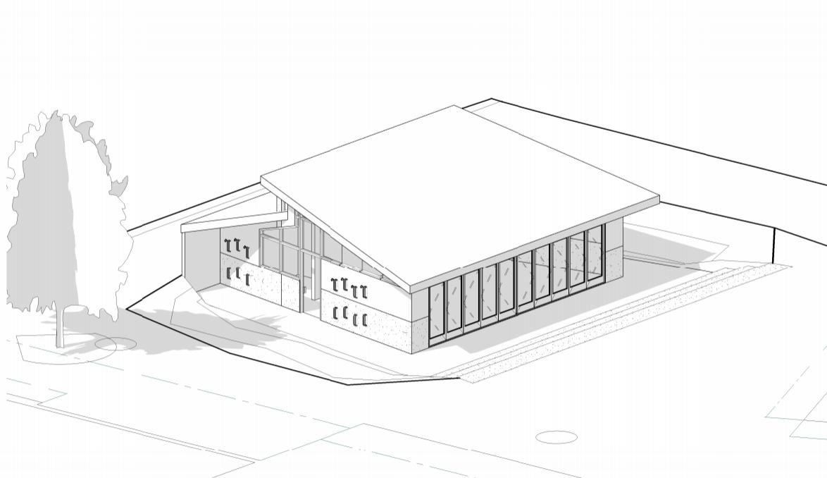 schematic design using Revit