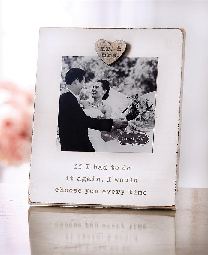 Mr & Mrs Magnetic Frame $12.95