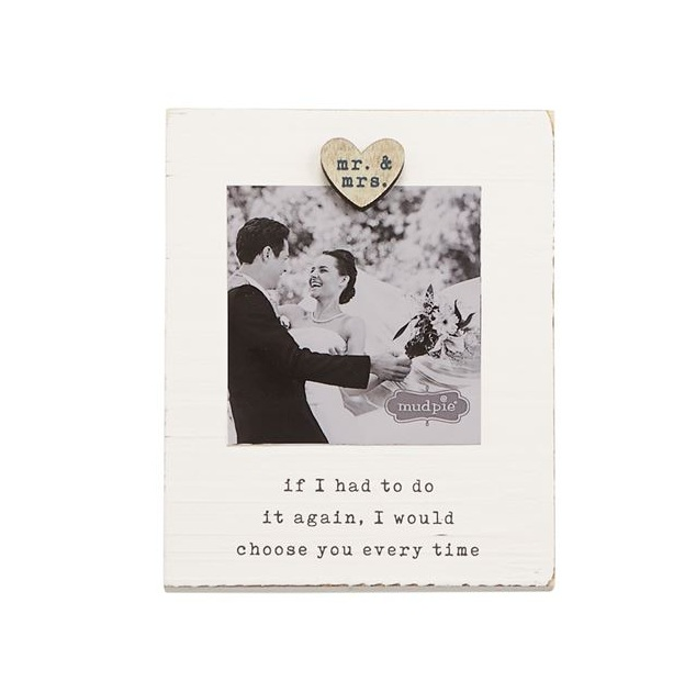Mr & Mrs Magnetic Frame $12.95