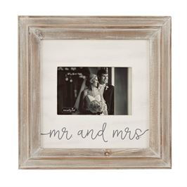 Mr & Mrs Wood Frame