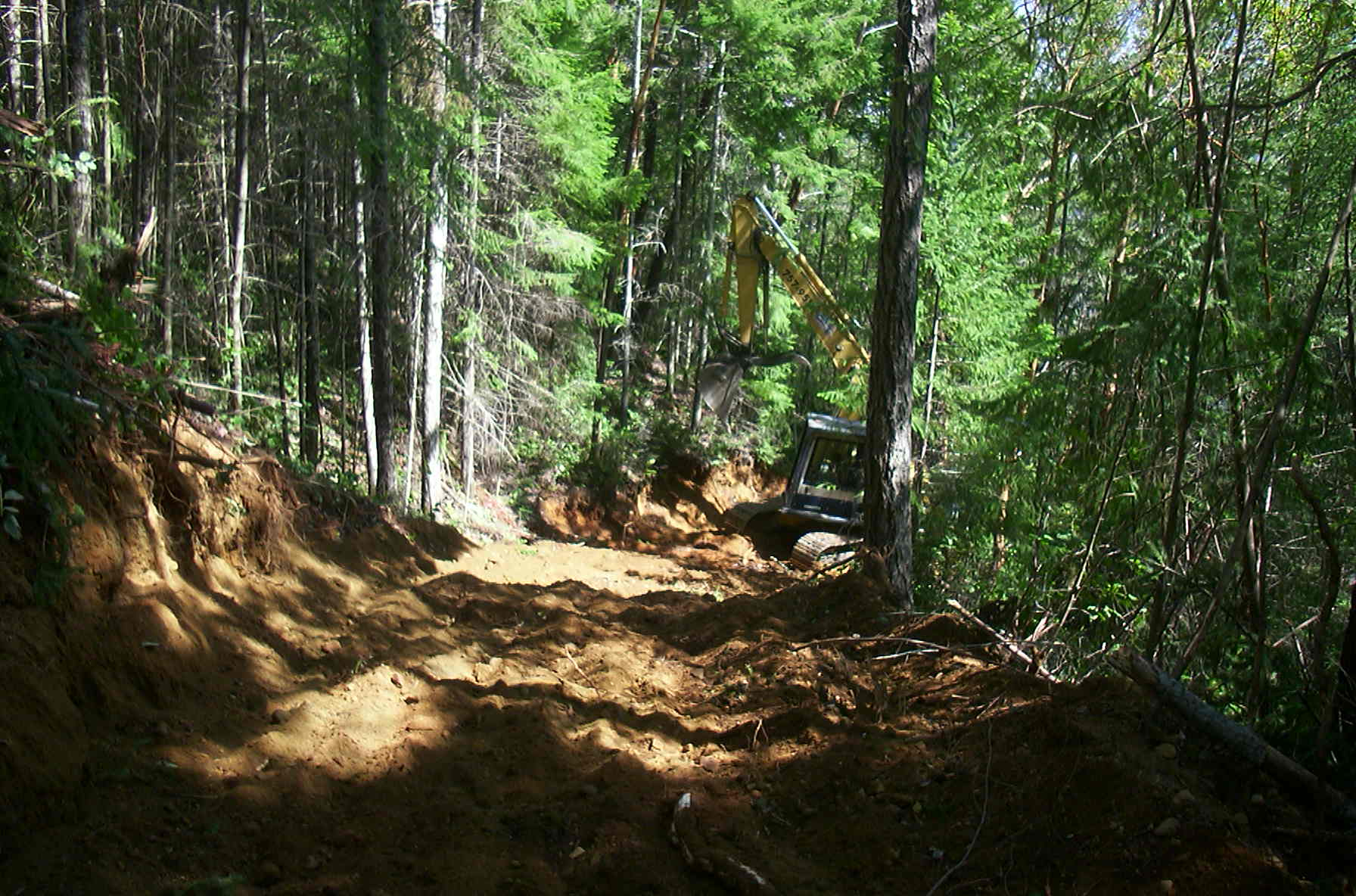 Construction of Driveway