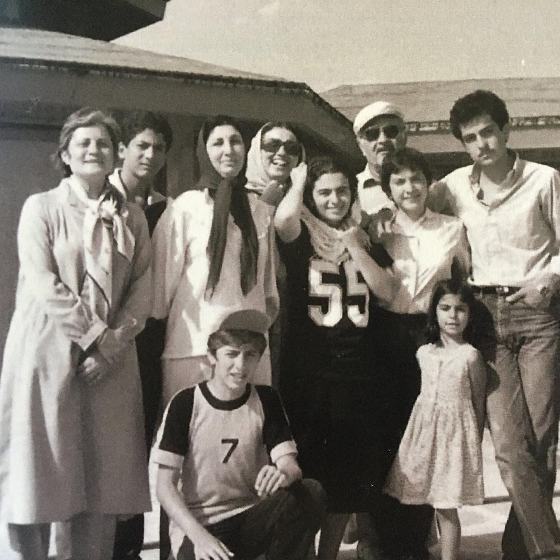 Malek Salehi Family