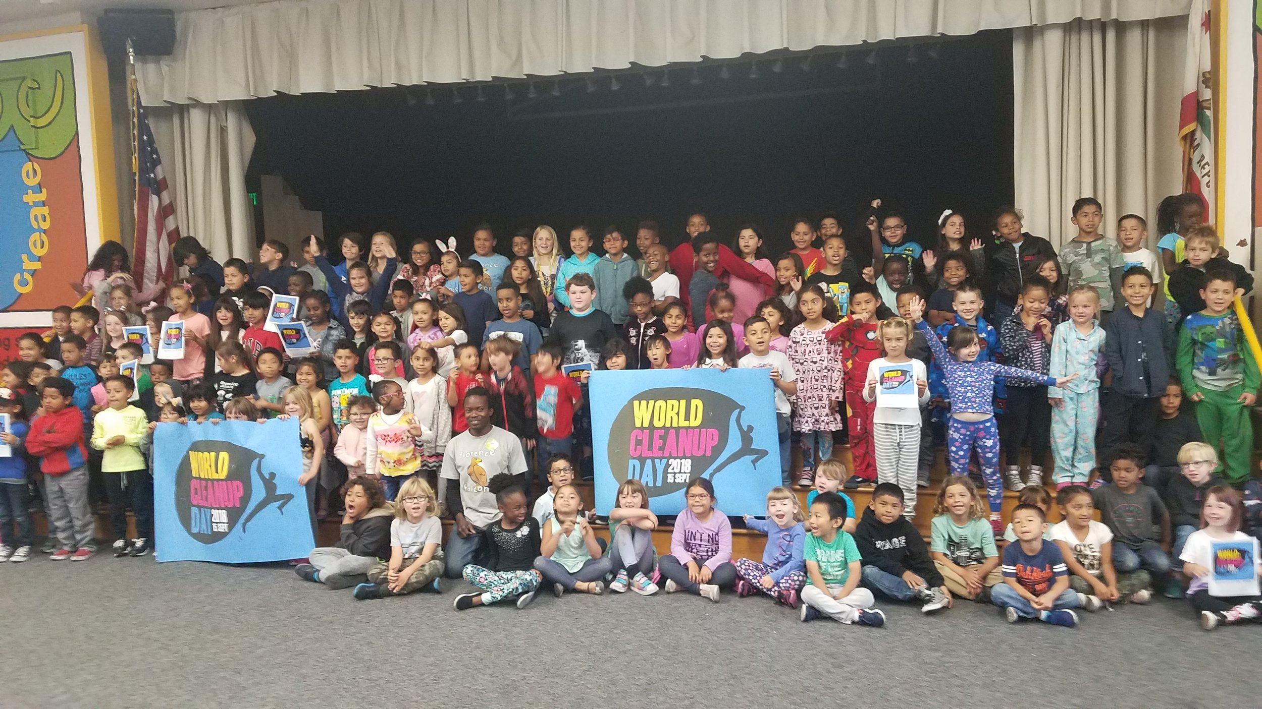 World CleanUp Day USA School Kids 2018.JPG