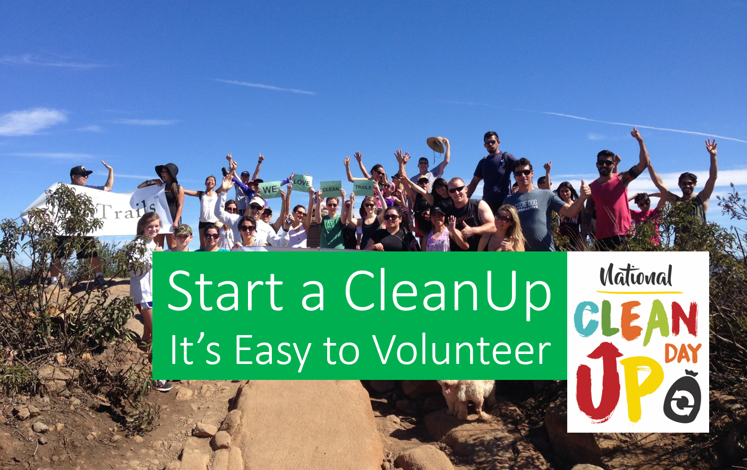 Start a CleanUp - Already have a company or group?Start Here!