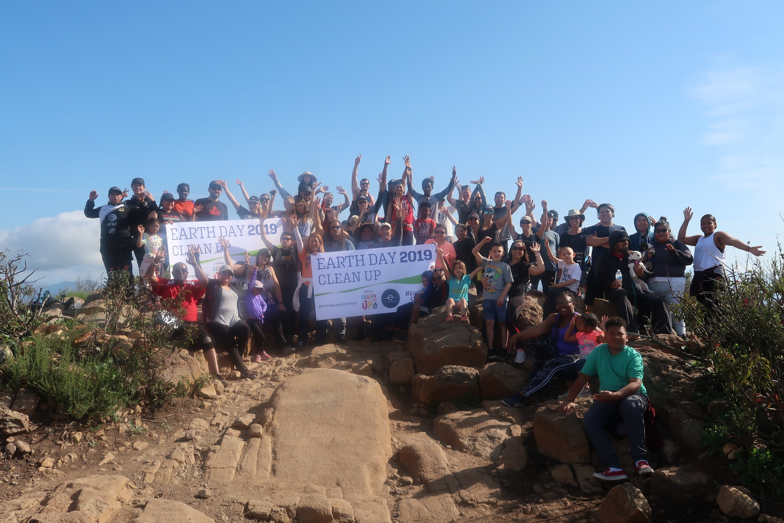 Cowles Mountain Earth Day 2019 CleanUp.jpg
