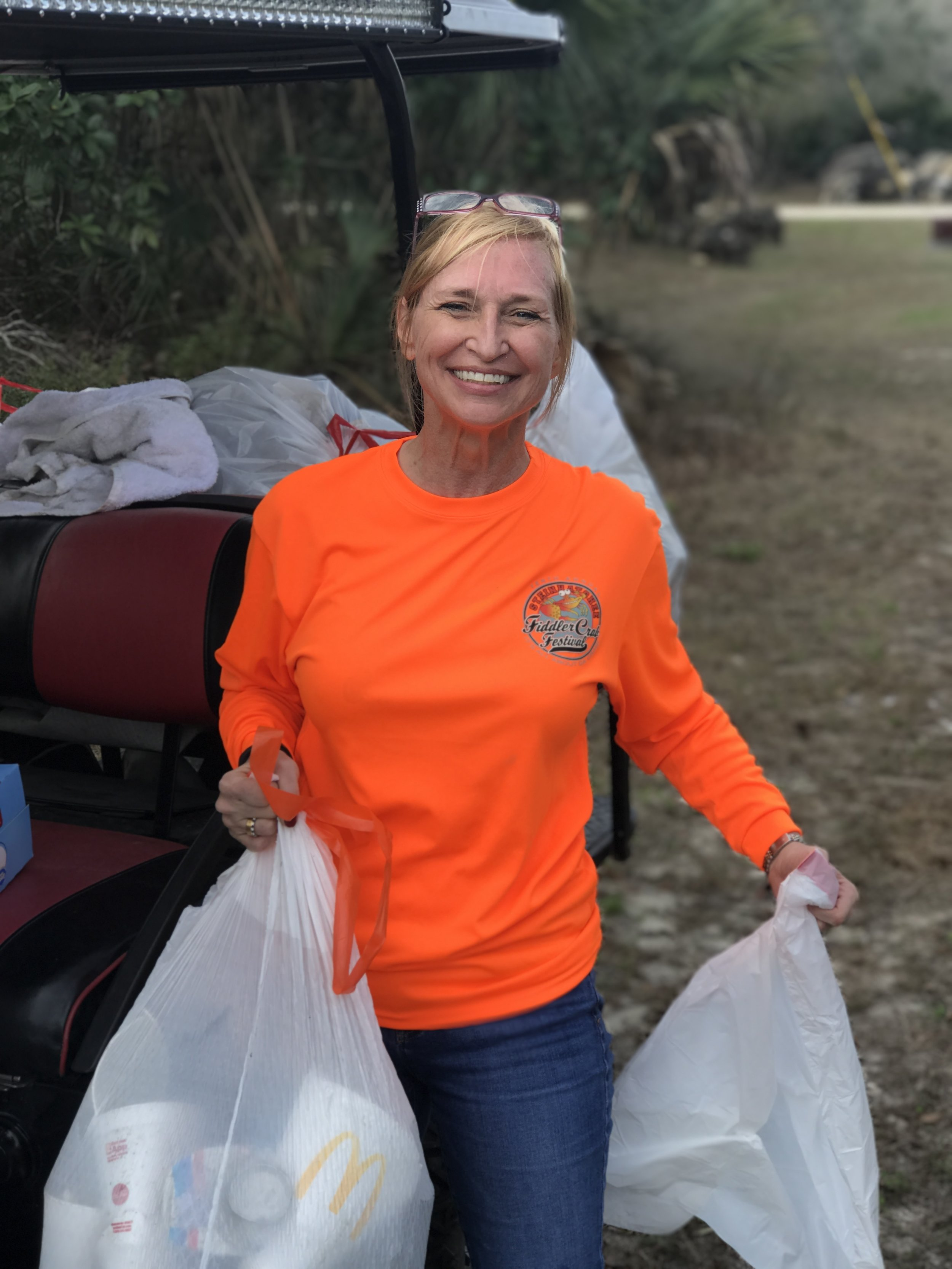 Kristin Skipper - Danielle trash clean up 02-11-18.JPG