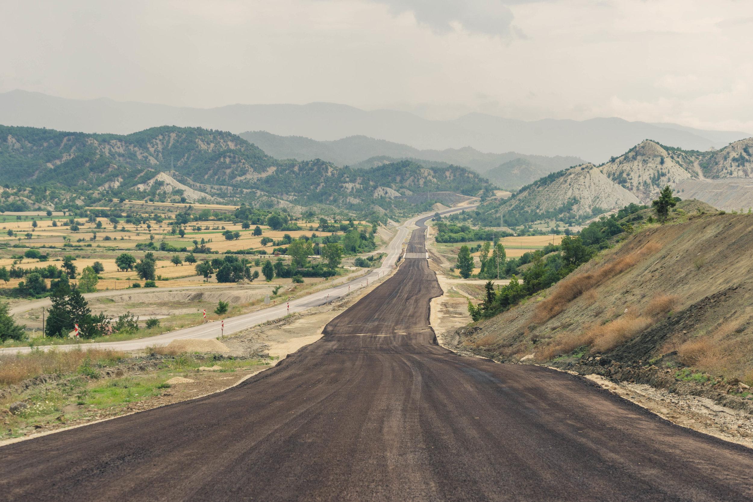 Lots of new roads