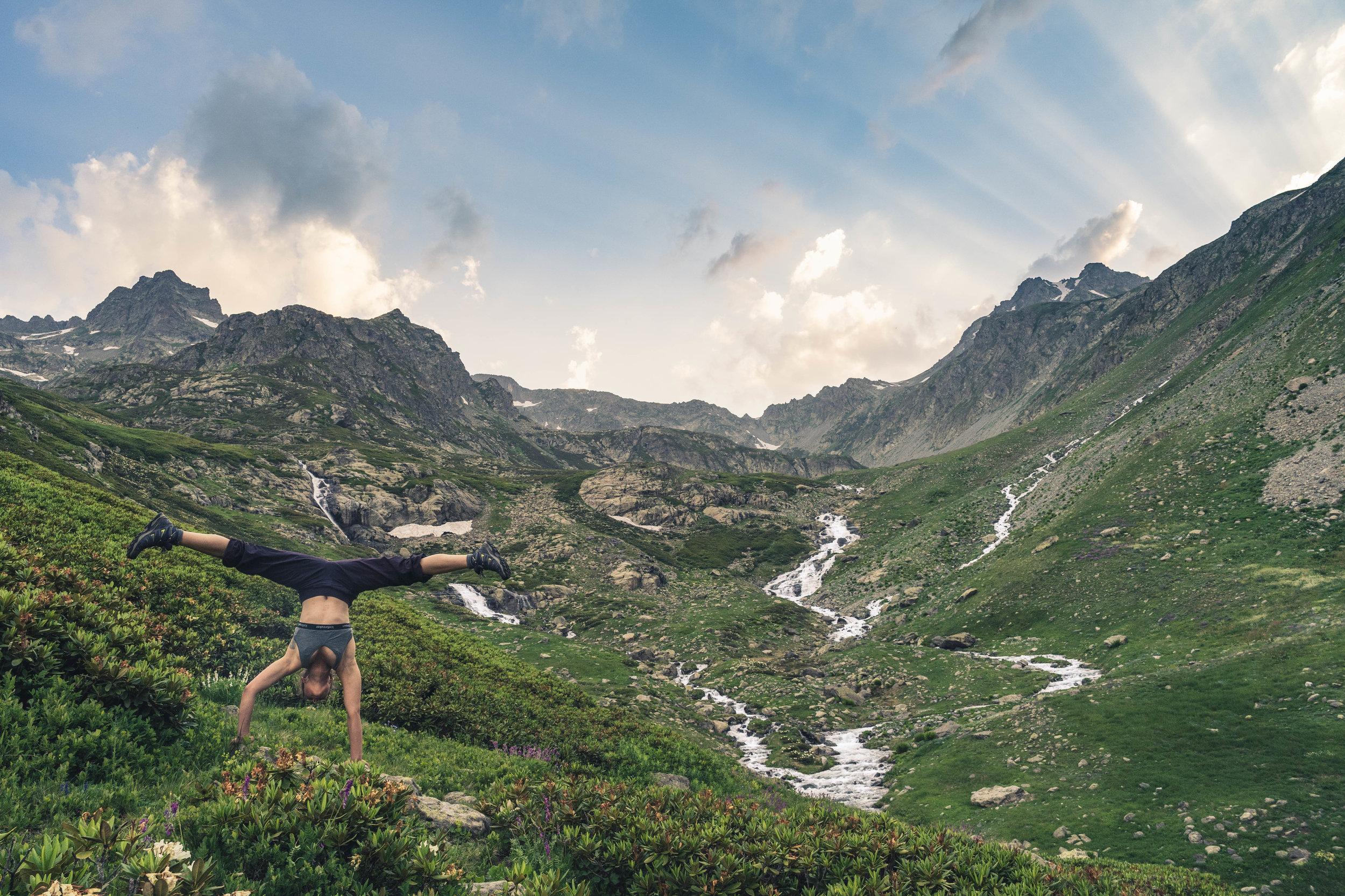 We get funky anywhere, Kaçkar Mountains