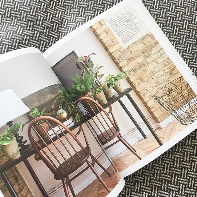 Sometimes when I feel puzzled, I randomly flip through my favourite plant book #AtHomeWithPlants.  It inspires me and makes me want to garden 😁🌿🌱 I kinda want to do so right now... 😏 Am I the only one excited for gardening season? 👩🏽🌾🌻