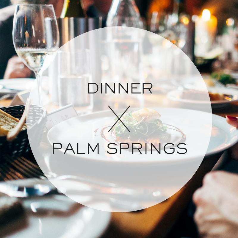best restaurants in palm springs