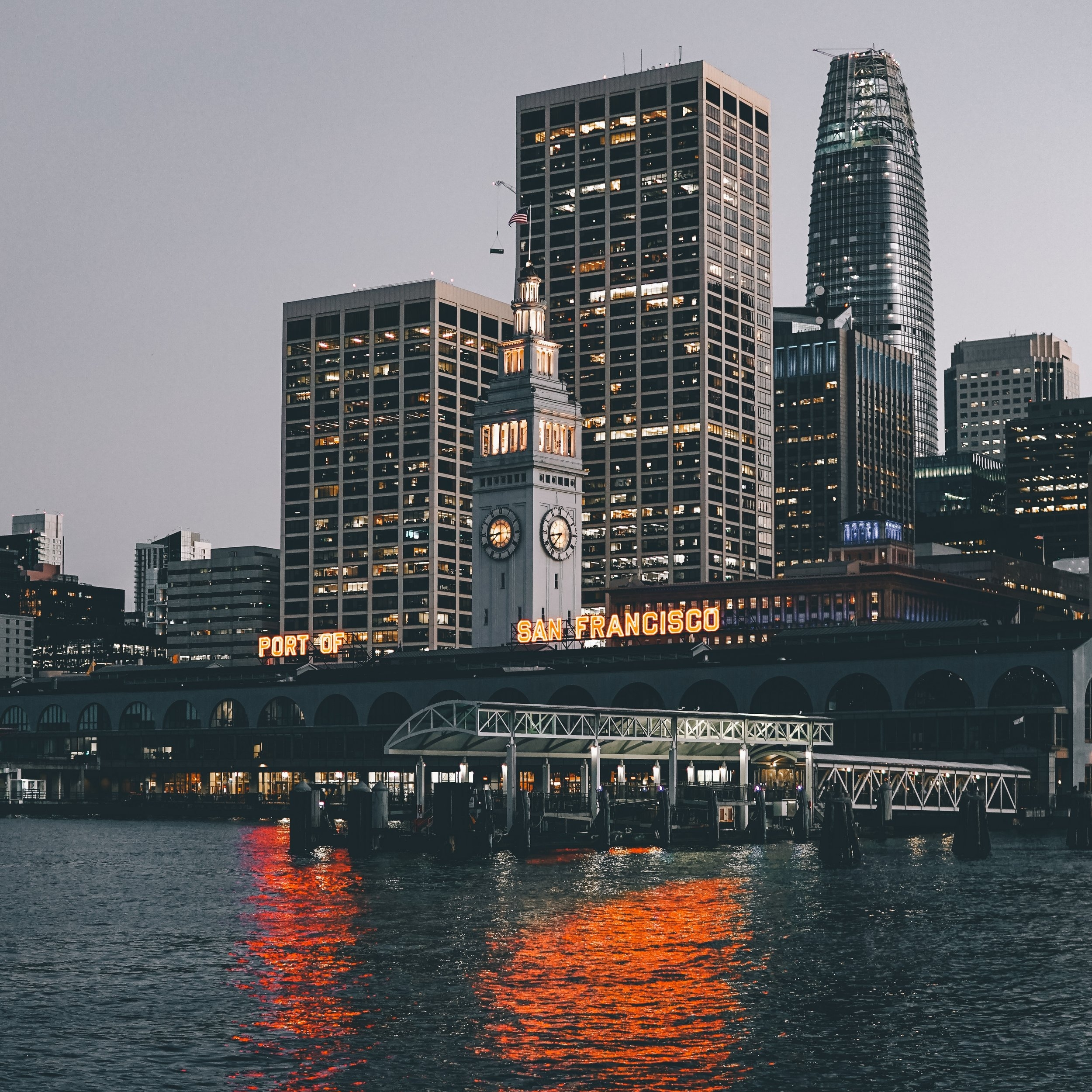 Ferry Building at Pier 1