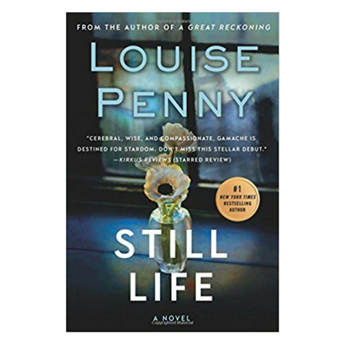Still Life - The first book in Louise Penny's Inspector Gamache series rapidly gets the reader invested in the people of Three Pines and the mysterious (accidental?) death of local Jane Neal. Each description of the fictional, rural village south of Montreal, Canada makes you wish you could meet your favorite local at the bistro. A fantastic first book in a wonderful mystery series. If I'm ever in doubt on what to read on a rainy day, my go to is anything by Louise Penny. The book is also bound to make you dream of planning a winter trip to Montreal.