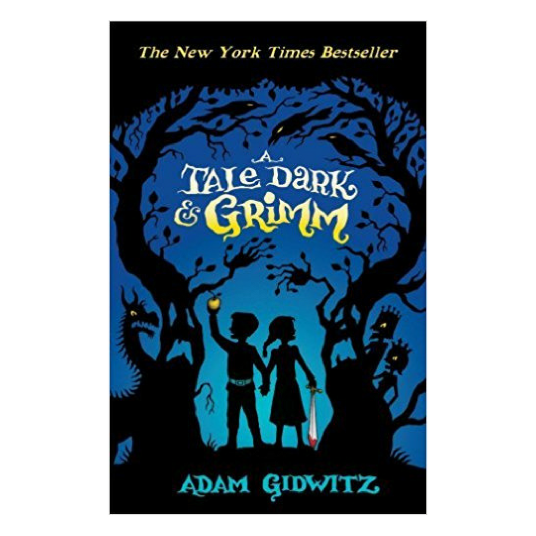 A Tale Dark and Grimm - Many adults know that the original version of Grimm's fairy tales are extremely dark and often end very badly for their young main characters. In a Tale Dark and Grimm, Hansel and Gretel overhear a telling of their original gruesome story and decide to run away from home in the hopes of escaping that terrible fate. Similar to a Series of Unfortunate Events, the narrator frequently warns the reader that the tales that they are about to be told are truly awful and to stop reading immediately if they want to hear about light and happiness. The narrator then leads Hansel, Gretel and the reader through twisted versions of their story including dragons, a moon that eats children and complicated quests.