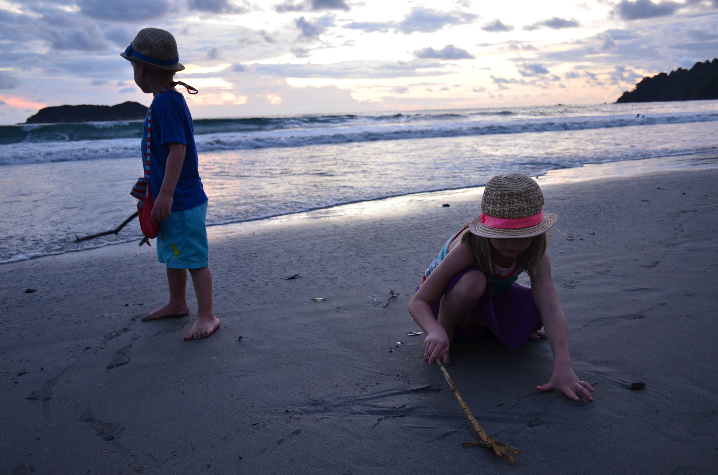 best places to travel with kids in costa rica
