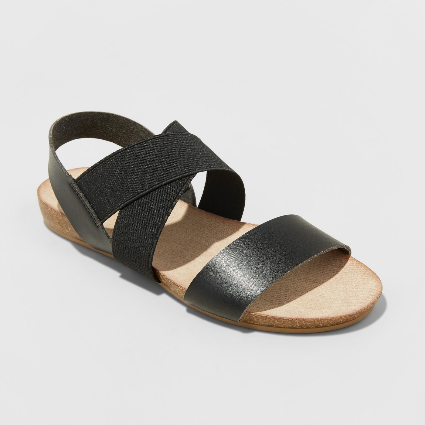 Women's Kerryn Elastic Strap Footbed Slide Sandals