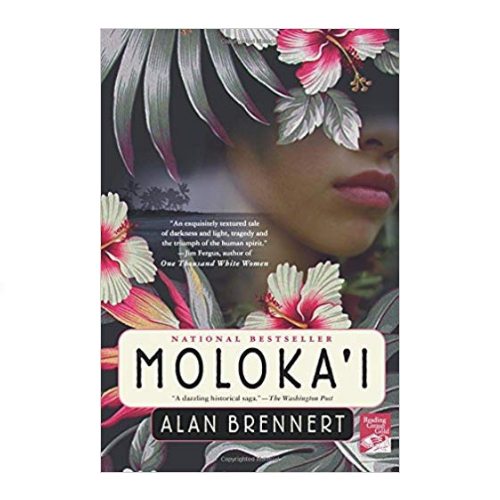 Moloka'i - After a scarlet mark appears on her leg, seven year old Rachel Kalama is sent away from her family and home in Honolulu to the island of Molokai to live in the quarantined leprosy settlement Kalaupapa. Although this fascinating story of Rachel's life is fictional, it is based on a real place and actual events that occurred at the turn of the last century in Hawaii. The beauty of Rachel's surroundings sometimes contrast, and at other times mirror the friendships, love and loss she faces each day. This is a lovely blend of traditional Hawaiian stories and historical fiction.
