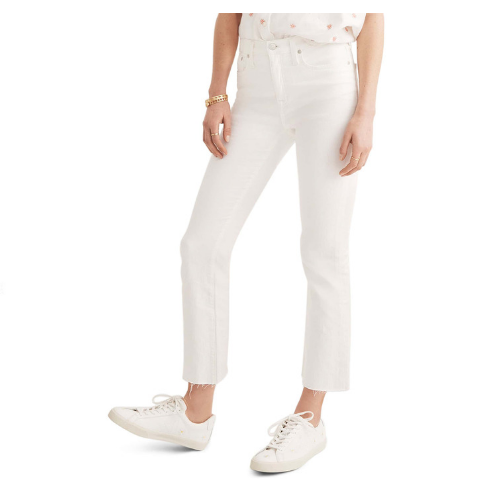 Perfect White Jeans.