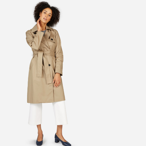 Classic trench perfection.