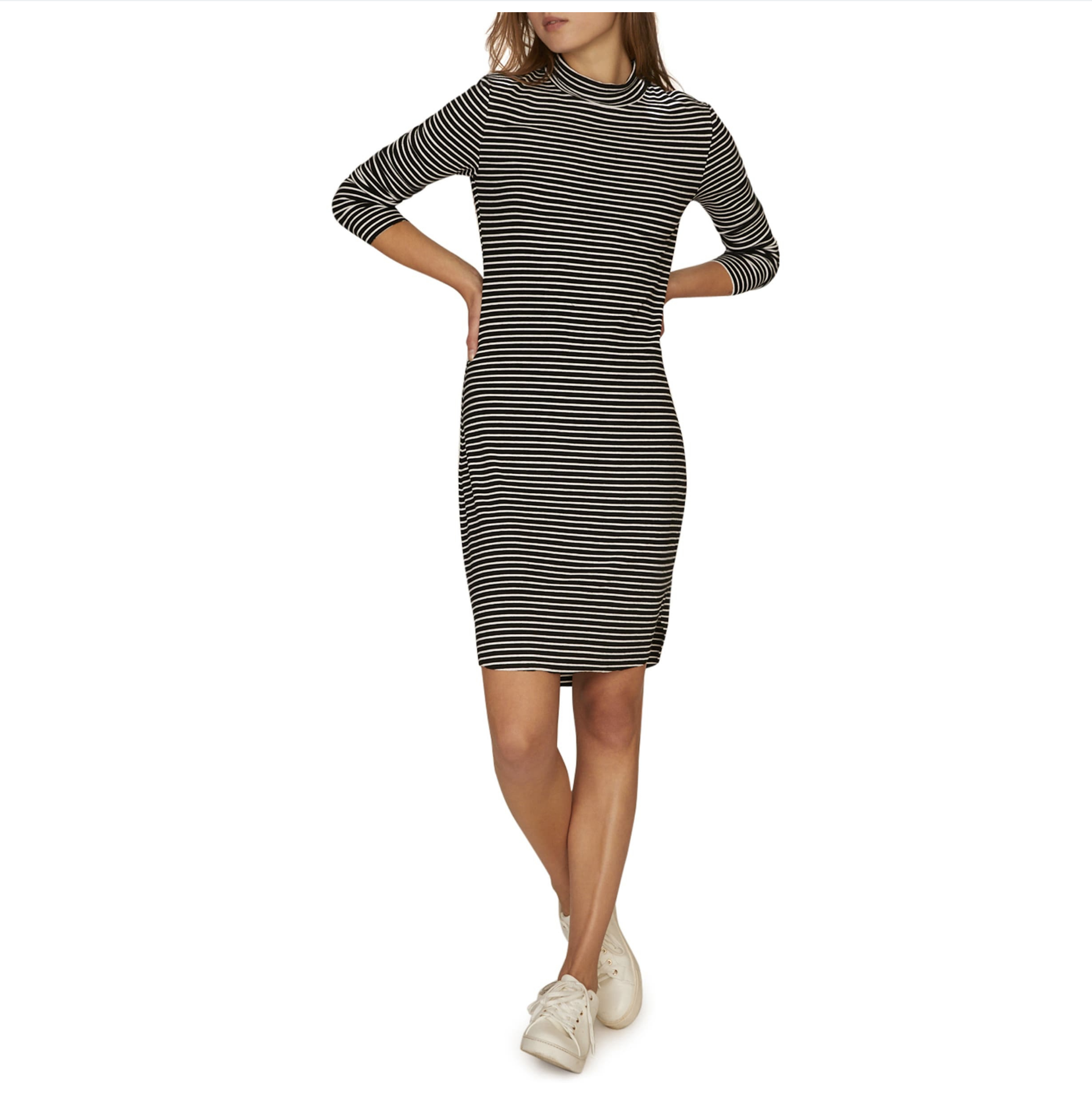 Sanctuary mock neck l/s Dress