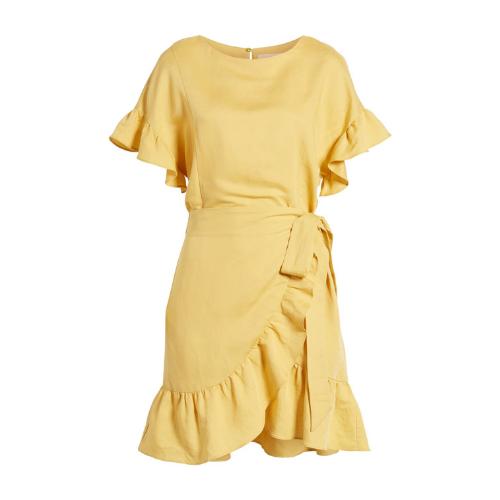 Perfect yellow dress.