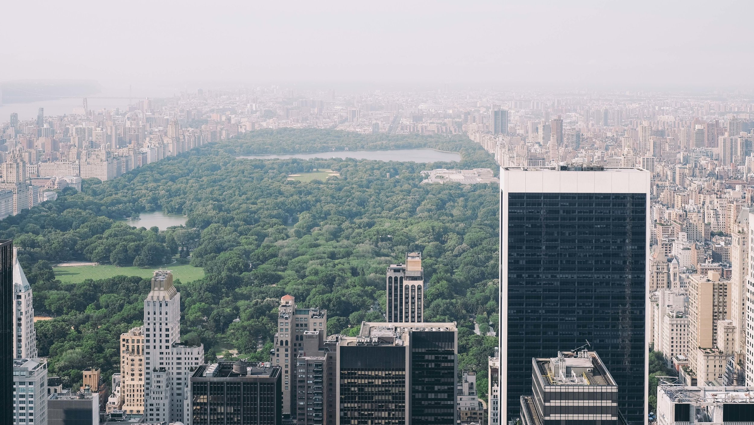 Central Park from Top of Rock