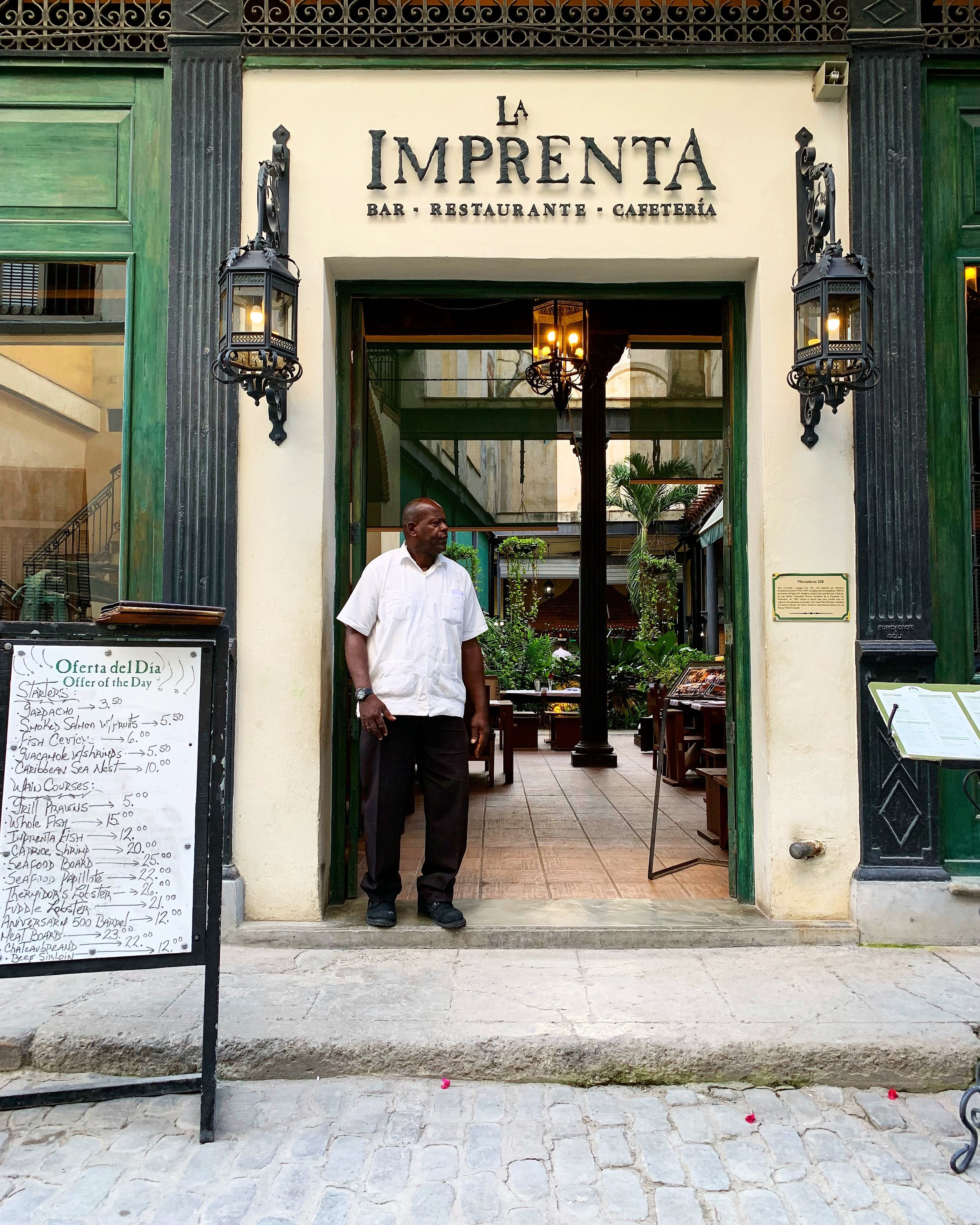 where should we eat in Havana