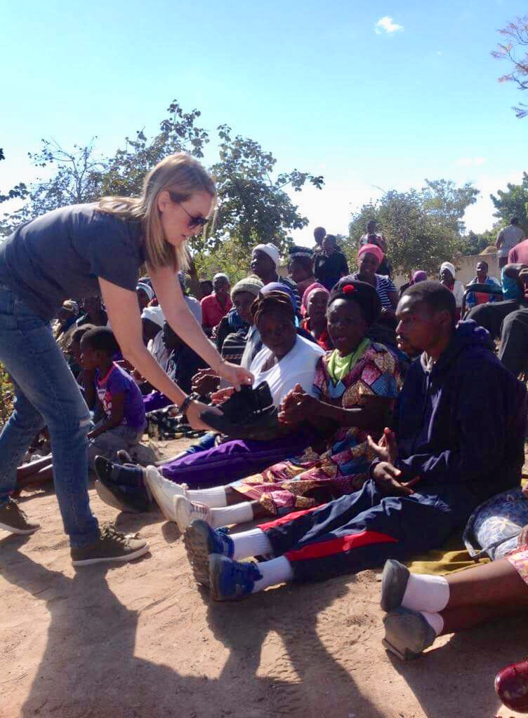 Desirée is currently in Zimbabwe working with Ruben's Shoes.