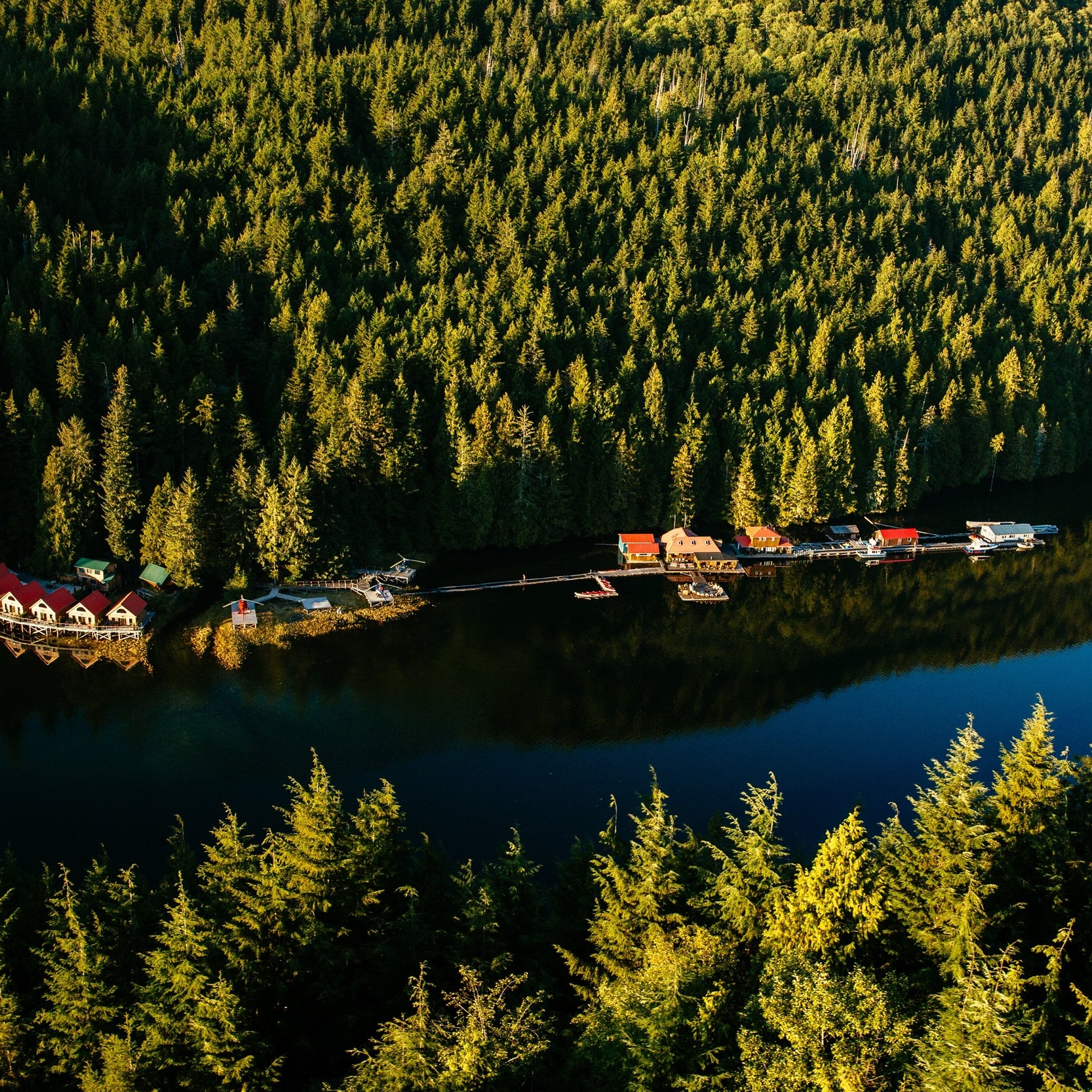 Nimmo Bay Wilderness Resort - Nimmo Bay is an intimate, family-owned and operated resort located in the Great Bear Rainforest of British Columbia, Canada that supports and encourages guests as they create their own wild and inspiring stories.