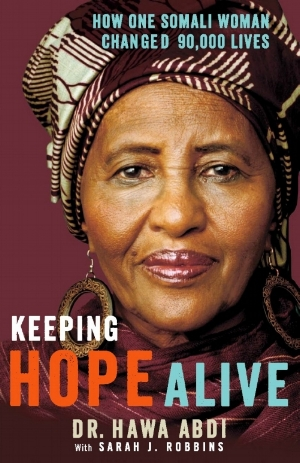 Read the Full Story - Keeping Hope Alive, Dr. Hawa Abdi's 2013 memoir, tells the full, incredible story of her life and her record of humanitarian work. The book details the tragedies she experienced that motivated her to become a doctor. It describes the barriers she faced as a woman pursuing careers in medicine and law. It tells the story of when she was kidnapped by radical insurgents in 2010, and much, much more.Get your copy today.