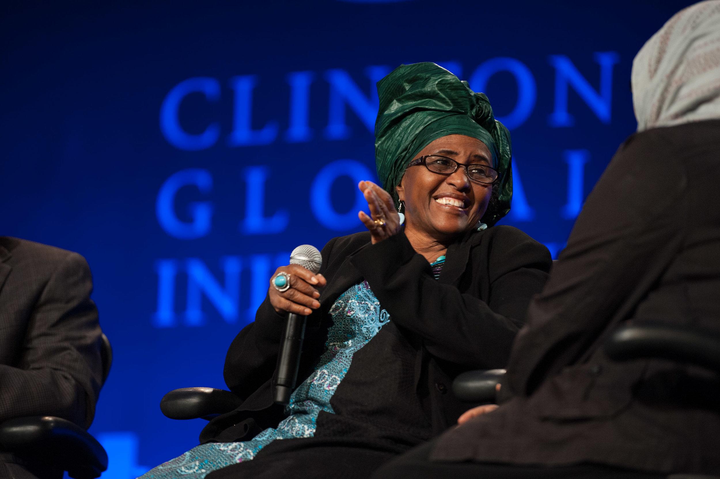 Photo courtesy of Clinton Global Initiative.