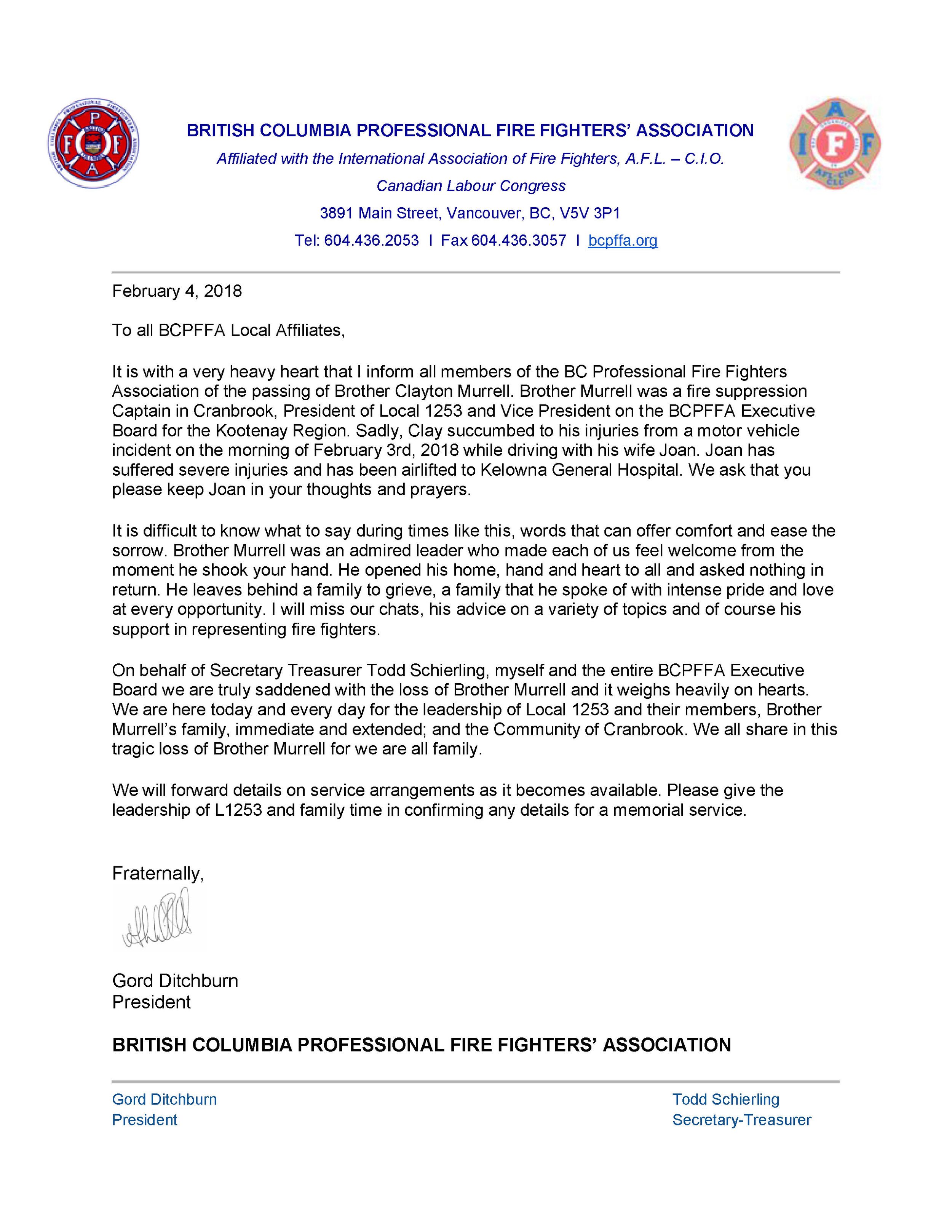 Passing of BCPFFA VP Clayton Murrell.jpg