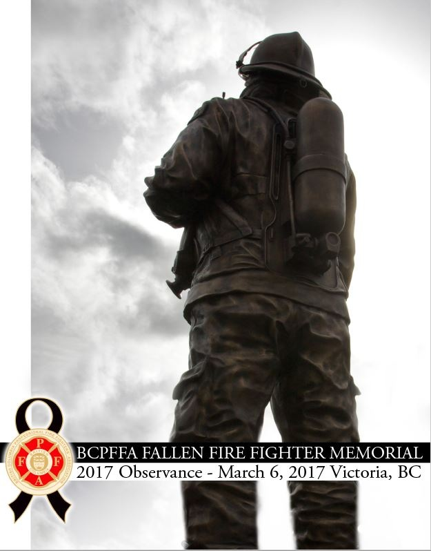 In 2017, we honoured fourteen fallen Fire Fighters - DOWNLOAD PROGRAM HERE