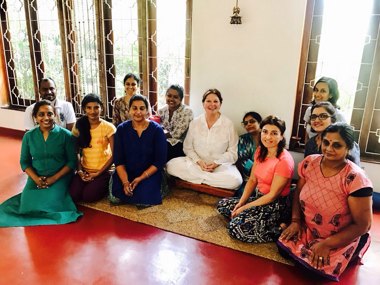 Some of our amazing yoga teachers in Colombo