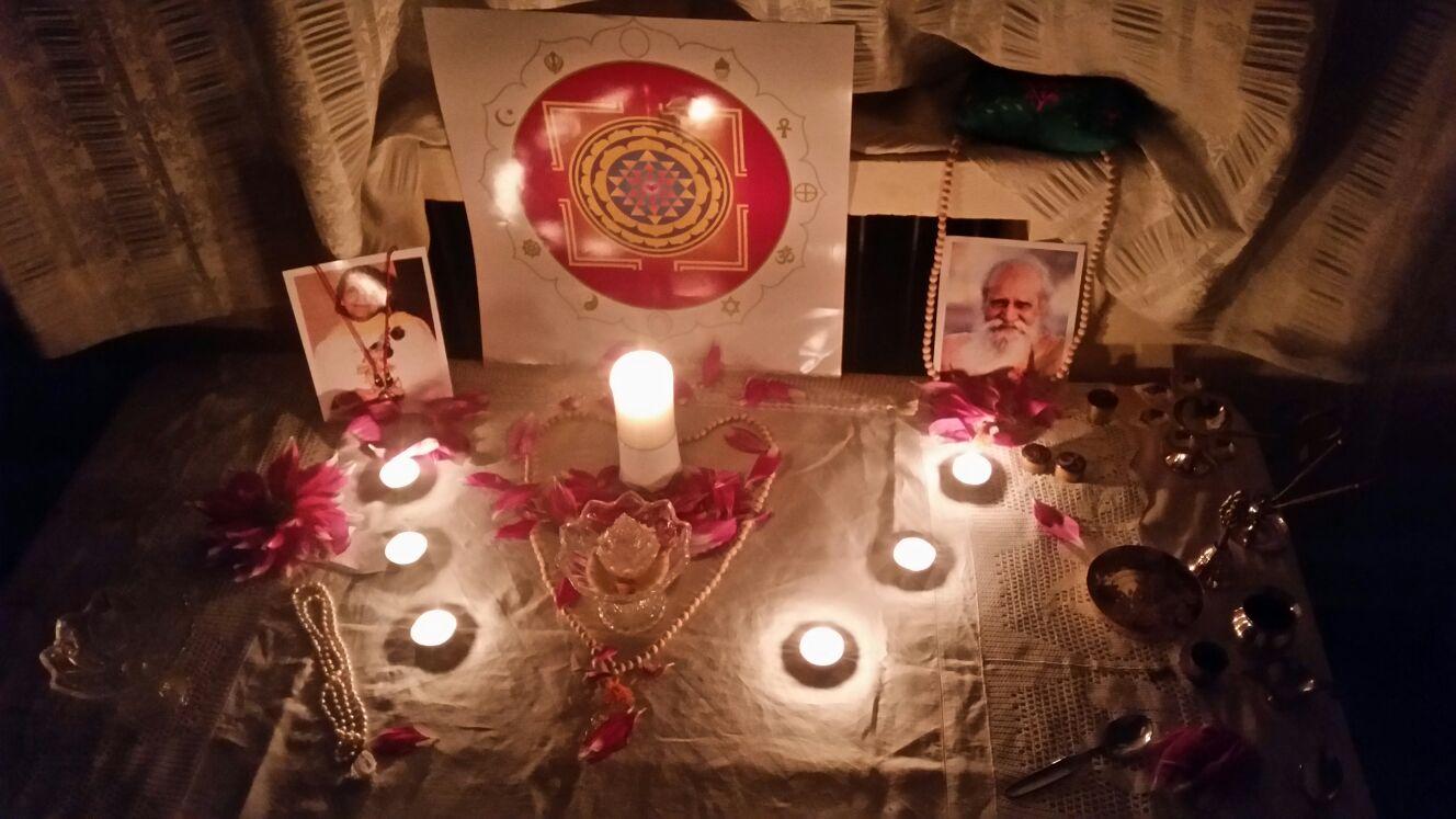Dedication Puja - ceremony of blessing for our little Hridaya Bij Ashrama 💖