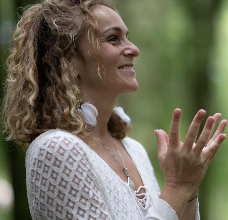 Elise Yuill Cohen Music Ambassador for Heart Of Living Yoga
