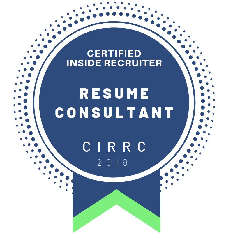 What is a CIRRC? - Anyone can write a resume but Certified Inside Recruiter Resume Consultants (CIRRC) have a holistic understanding of the hiring process and how this can have a profound effect on resume strategy.Inside Recruiter is a resume writing agency that provides effective resume strategies to clients based on current recruiter and employer hiring practices.The CIRRC Certification is a designation that identifies a resume writer as a professional who has gone through additional baseline training and can implement these strategies into their resumes.