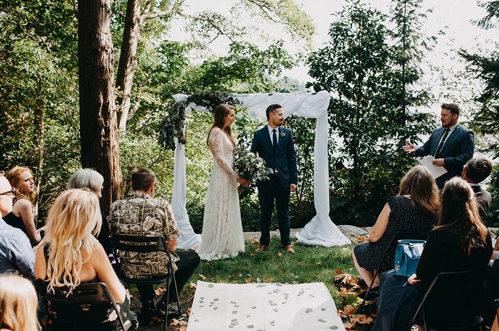 Vancouver Wedding- Whytcliff Park Wedding - Jayme Lang